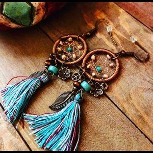 Boho Earrings,Gypsy Earrings,Southwestern